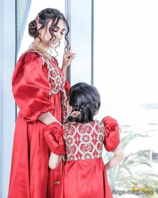 الهام عرب و دخترش با لباس شیک ست شده!