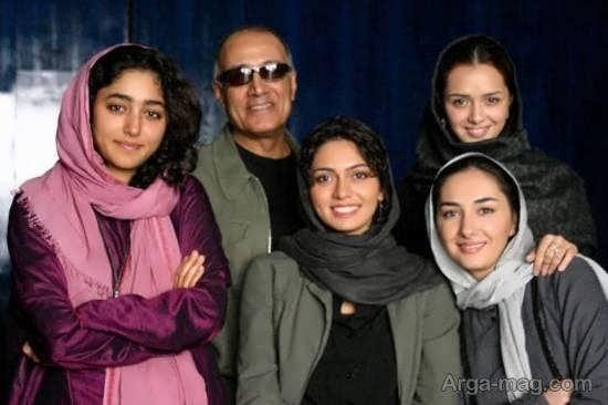 هانیه توسلی در پشت صحنه فیلم «شیرین» ۱۲ سال پیش/تصاویر