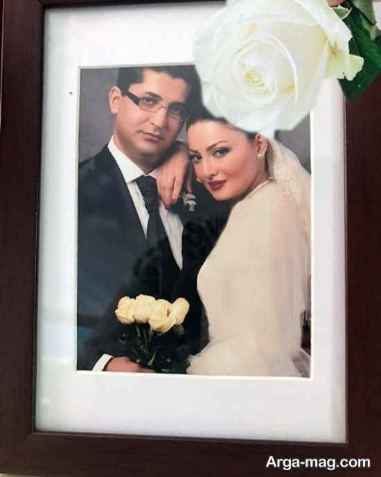 عکس عروسی خانم بازیگر