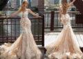 لباس عروس شامپاینی