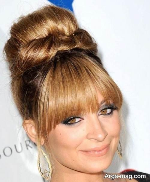 آرایش موی زیبا چتری