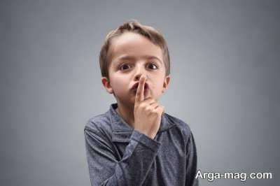 سکوت کودکان به چه علت است؟
