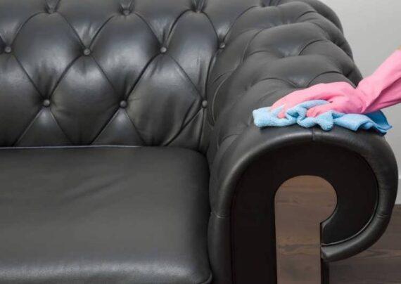 تاثیرات شوینده ها برای تمیز کردن مبل چرم
