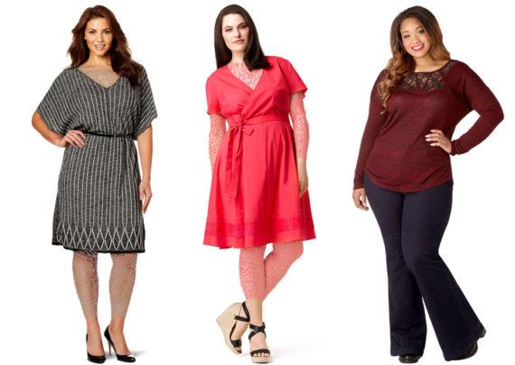 لباس برای خانم های چهارشانه
