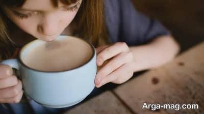 تاثیر مصرف قهوه بر روی سلامتی کودکان