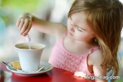 مضرات مصرف قهوه برای کودک