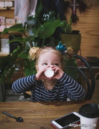 مشکلات نوشیدن قهوه برای کودکان