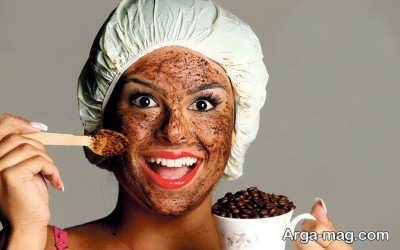 خواص ماسک قهوه بر روی پوست