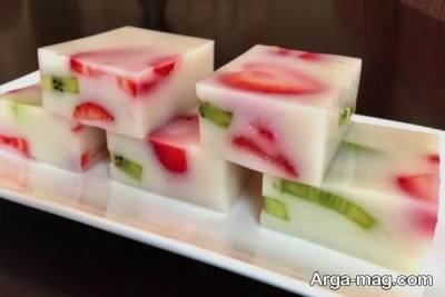 ژله میوه ای