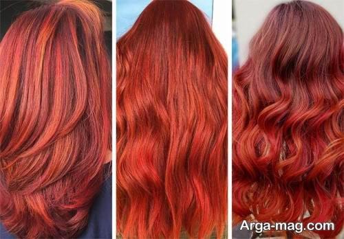 فرمول ترکیبی رنگ مو ماهگونی