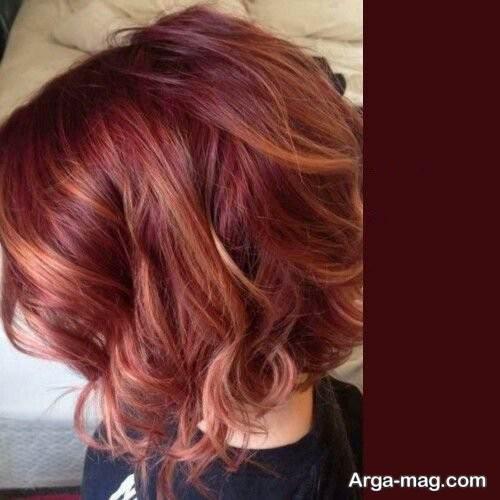 رنگ مو مسی