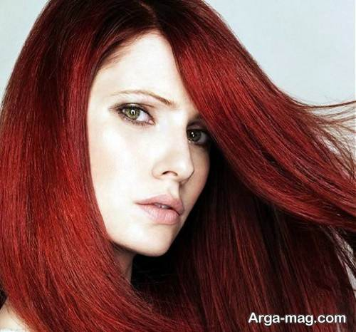 رنگ مو تیره مسی ماهگونی