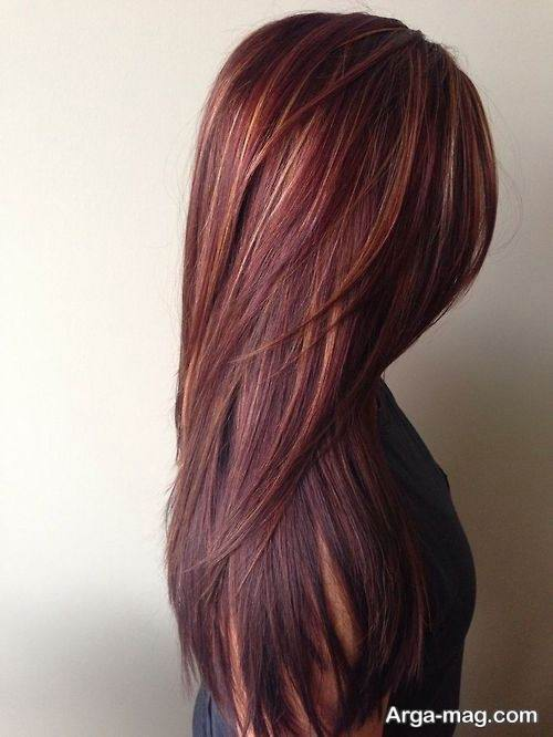 فرمول ترکیبی رنگ موی مسی ماهگونی