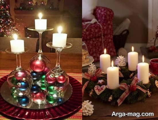 تزیینات تولد با شمع+عکس