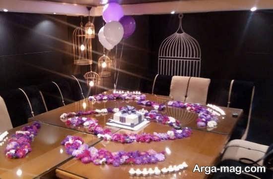 تصاویری از تزیینات تولد با شمع