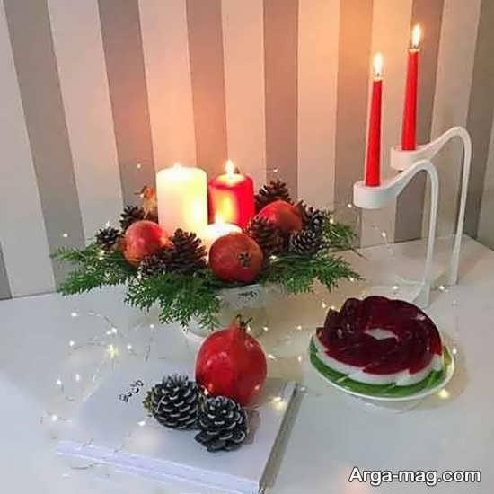 تزیینات تولد جذاب با شمع