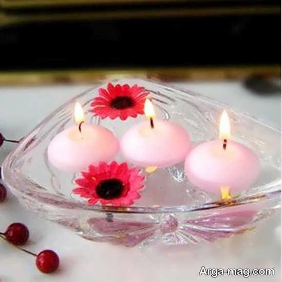 شمع آرایی زیبای تولد
