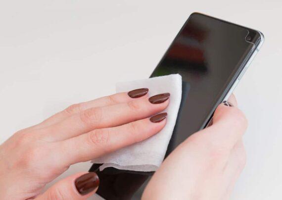 ضدعفونی کردن گوشی هوشمند