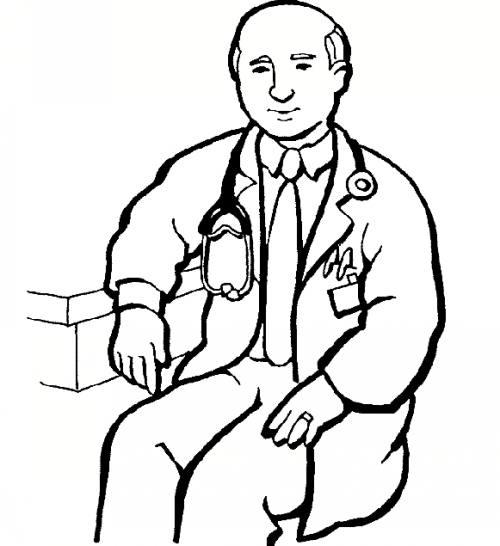 رنگ آمیزی پزشک