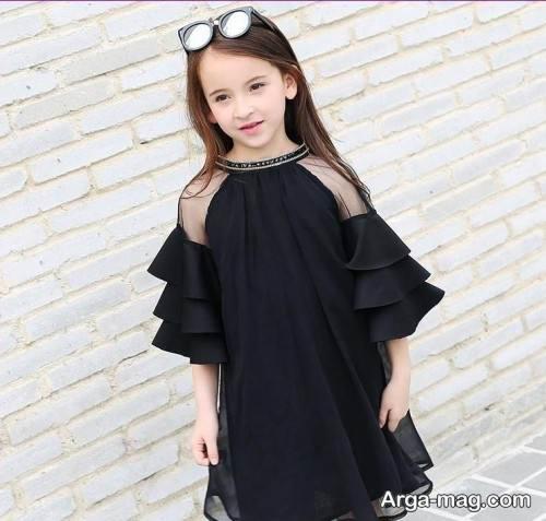 لباس دخترانه مشکی
