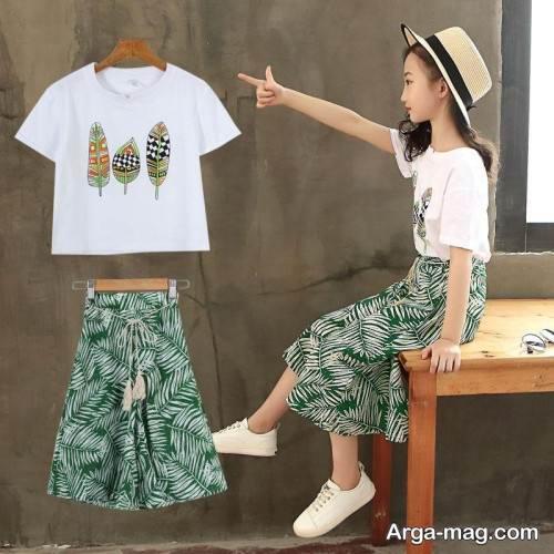 لباس دخترانه 11 ساله