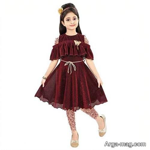 طرح لباس مجلسی دخترانه