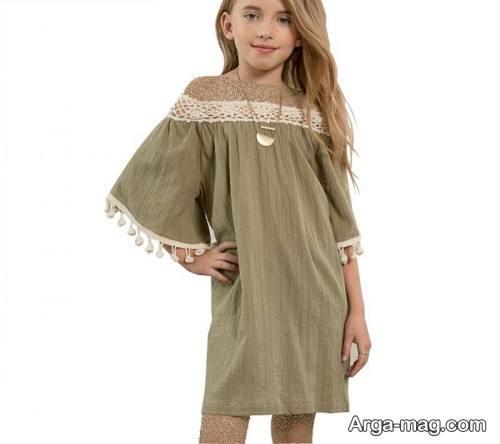 مدل لباس رنگ روشن دخترانه