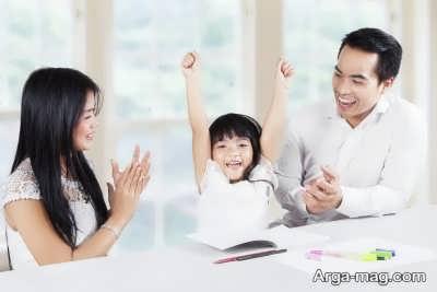 تشویق کلامی کودک