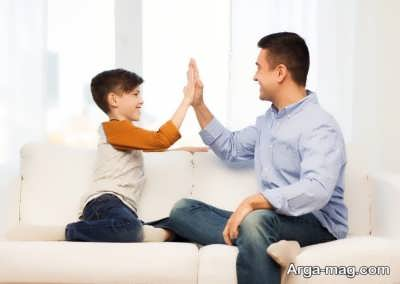 روش هی تحسین بچه
