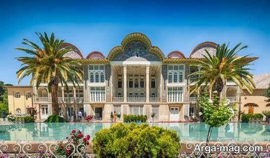 بستان ارم واقع در شهر ادب پرور شیراز