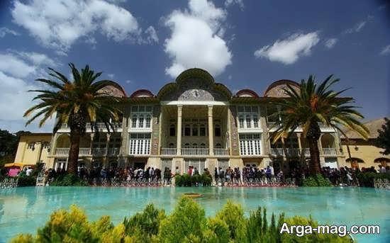 بوستان ارم یکی از جاذبه های دیدنی و متنوع شیراز
