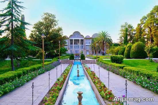 آشنایی با بستان ارم در شهر شیراز در استان فارس