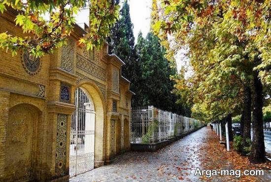 بستان تاریخی ارم واقع در شهر شیراز