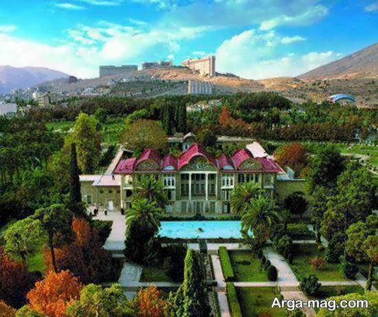 آشنایی با باغ ارم و زیبایی های گردشگری اش