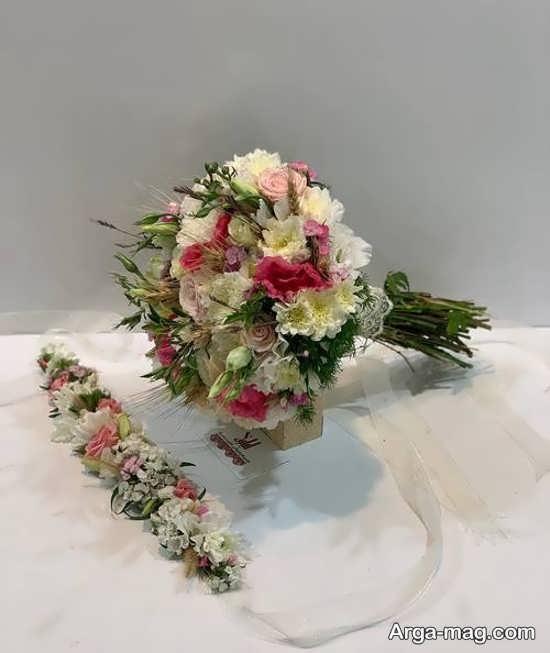 دسته گل زیبای مدل اروپایی