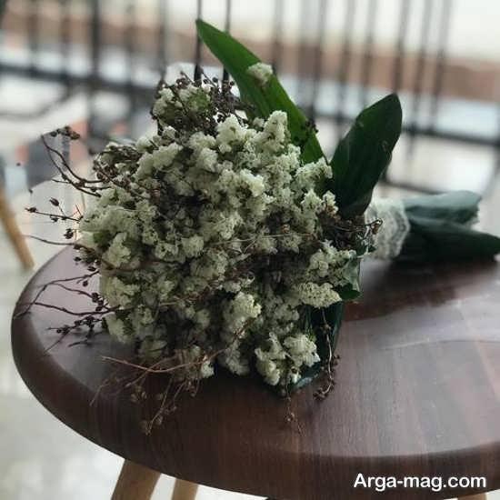 دسته گل طبیعی مدل اروپایی
