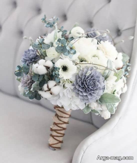 جدیدترین دسته گل عروس اروپایی+تصویر