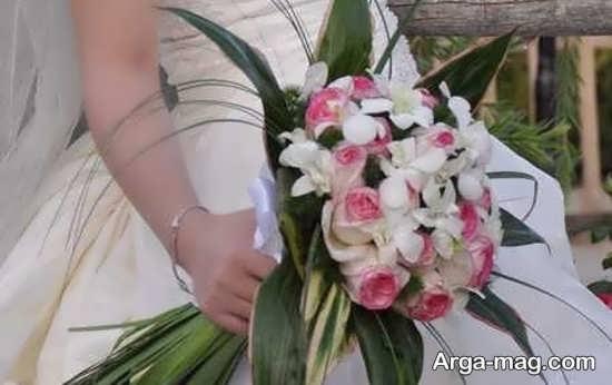 دسته گل عروس اُروپایی و طبیعی