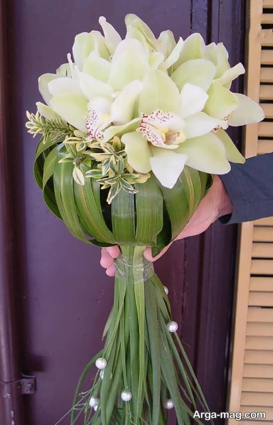 مدل گل عروس اروپایی با دیزاین متفاوت