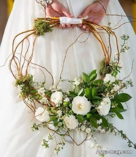 مدل گل عروس اروپایی با دیزاین شکیل