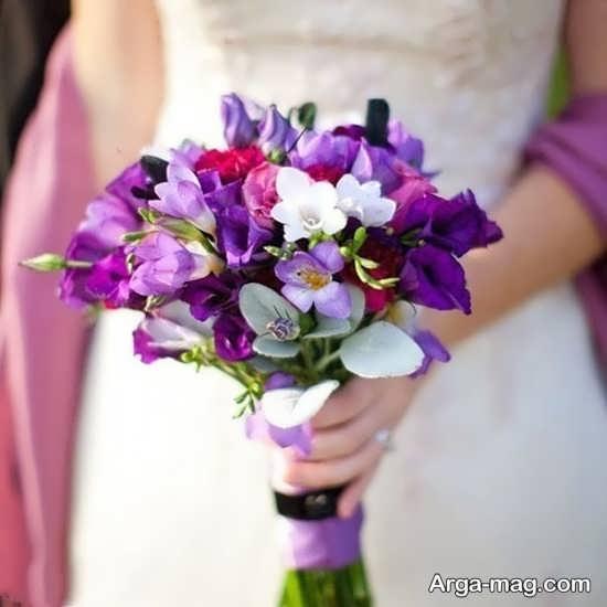 مدل گل عروس اروپایی با دیزاین شیک