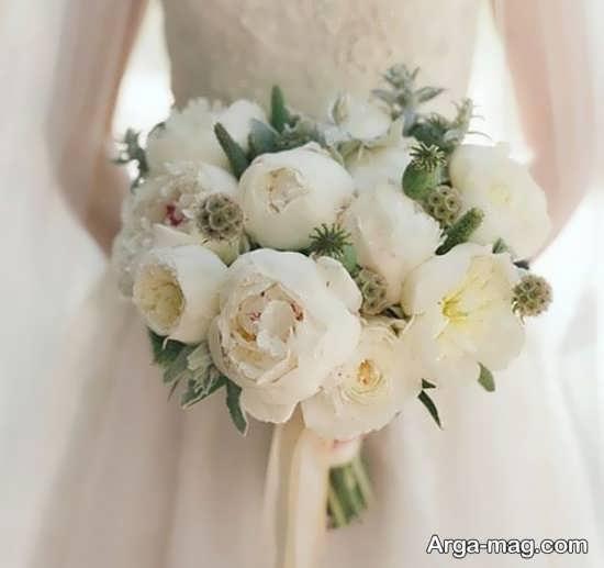 مدل گل عروس اروپایی با دیزاین زیبا