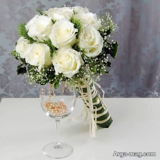 مدل گل عروس اروپایی با طراحی منحصر به فرد