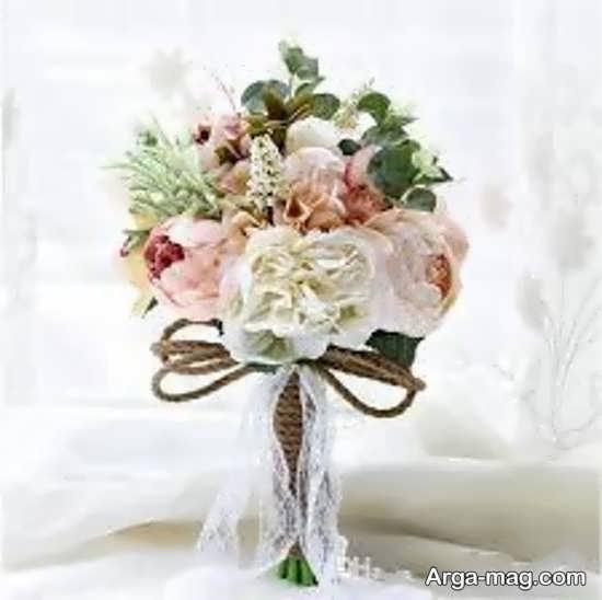 عکس دسته گل عروس اروپایی