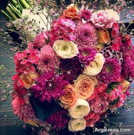 دسته گل عروس اُروپایی زیبا