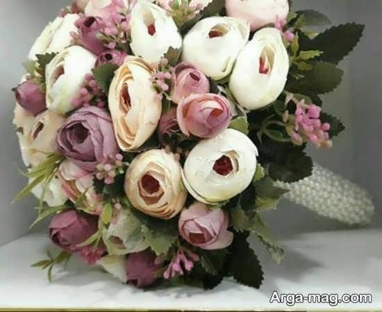 دیزاین دسته گل عروس اروپایی