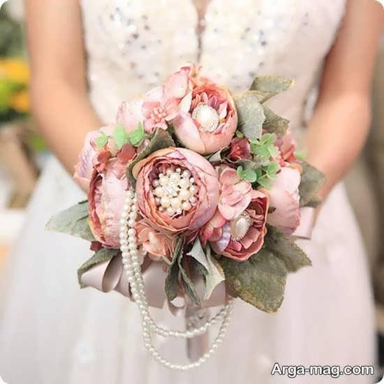 مدل گل عروس اروپایی با طراحی شکیل