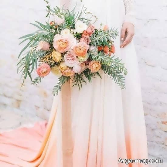 مدل گل عروس اروپایی با طراحی زیبا
