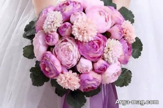 تزیینات دسته گل عروس اروپایی