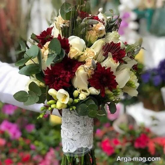 مدلهای زیبایی از گل عروس اروپایی